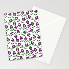 Bogenvil Yu Stail Flawa Stationery Cards