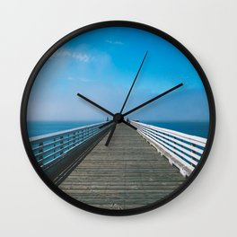 Boardwalking Wall Clock