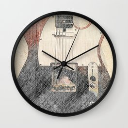 Luck of the Draw Wall Clock