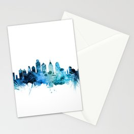 Philadelphia Pennsylvania Skyline Stationery Cards