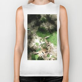 Mossy Green Ground Moss Biker Tank