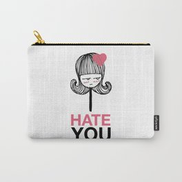 I Hate You / Lollipop Carry-All Pouch