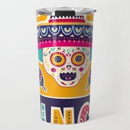 Cinco de Mayo – Scull Travel Mug