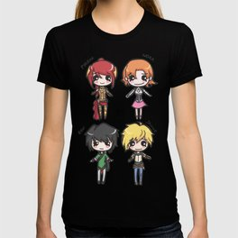 Team JNPR Chibis T-shirt