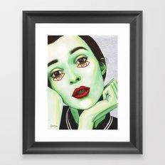 Close Up 2 Framed Art Print