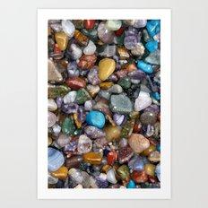 Rock my world Art Print