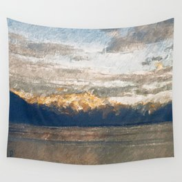 Yet another lake & mountain landscape | 2 Wall Tapestry