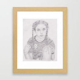 bruises  Framed Art Print