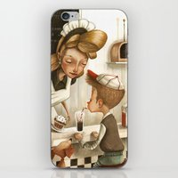 50s iPhone & iPod Skins featuring 50s Style by Daniela Volpari