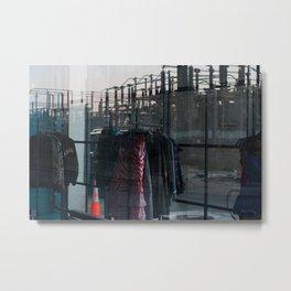 Juxtaposed  Metal Print