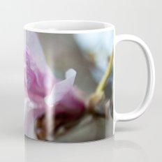 spring pink magnolia flower photography.   Mug