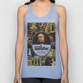 The Godfather, vintage movie poster Unisex Tank Top