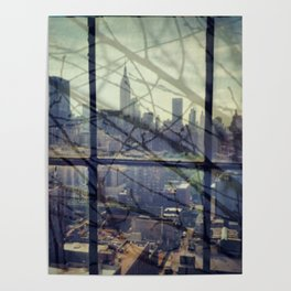reflections in the city Poster