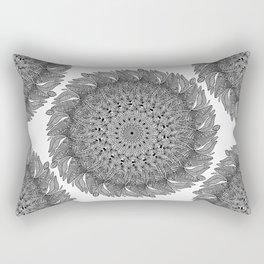 Mandala Leaf Universe Meditation Rectangular Pillow