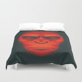 Planet of the Apes | Caesar Duvet Cover