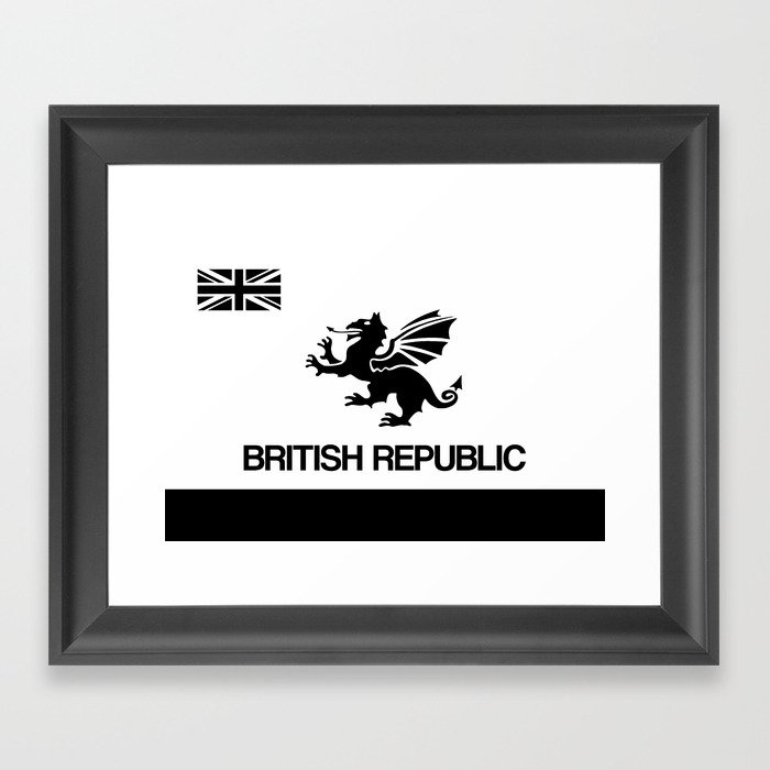 British Republic Framed Art Print