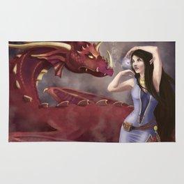 The Dragon Tamer Rug