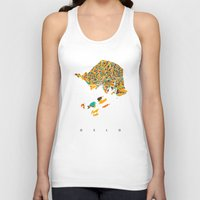 oslo Tank Tops featuring Oslo  by Nicksman