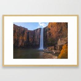 Waterfall on the Berkeley Framed Art Print