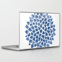 indigo Laptop & iPad Skins featuring Indigo by Color and Form