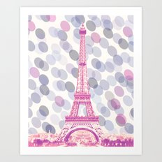 Tour Rose Art Print