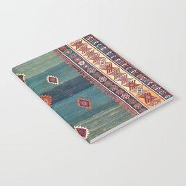 Sivas Antique Turkish Niche Kilim Notebook