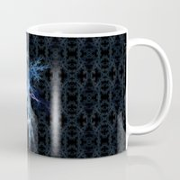 snowflake Mugs featuring Snowflake by MG-Studio