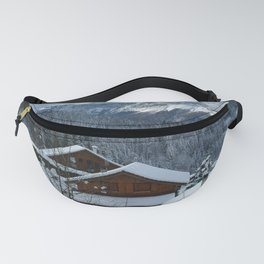 Holiday Season in Alps Fanny Pack