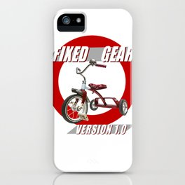 Fixed Gear Version 1.0 iPhone Case