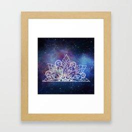 Tiara Framed Art Print