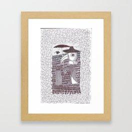 Plague Fashion Framed Art Print