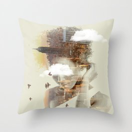 New York City dreaming Throw Pillow