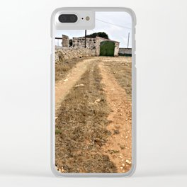 Farm Road in Ciutadella Clear iPhone Case