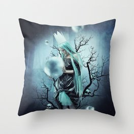 Shadow Bubble Throw Pillow