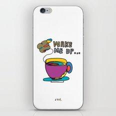 coffee first iPhone & iPod Skin