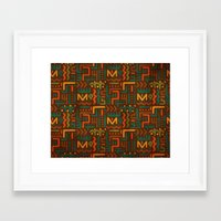 african Framed Art Prints featuring African by Arcturus