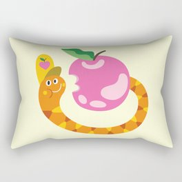 Apple lover Rectangular Pillow