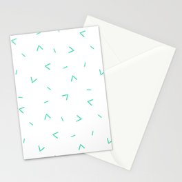 Summer Breeze (white) Stationery Cards
