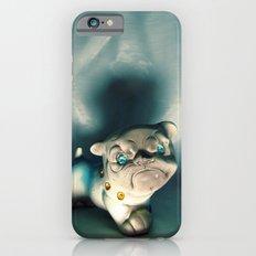 Demon Bulldog With Plastic Gemstone Eyes iPhone 6 Slim Case