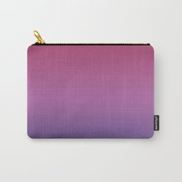 Ombre Ultra Violet Purple Maroon Lilac Gradient Pattern Carry-All Pouch