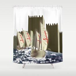 Ó gente da minha terra Shower Curtain