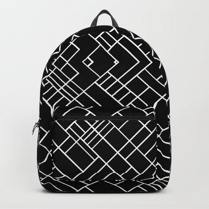 PS Grid 45 Black Backpack