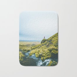 He Found the River's Valley (Color) Bath Mat
