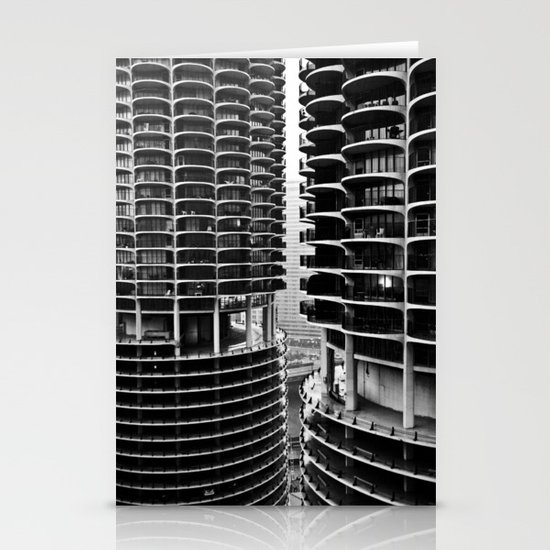 Bertrand's Buildings Stationery Cards
