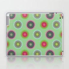 transparent floral pattern 4 Laptop & iPad Skin