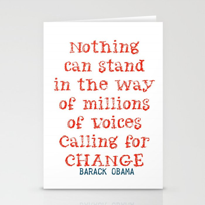 Change Stationery Cards