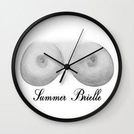 Summer Brielle Wall Clock