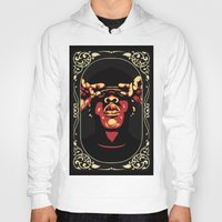 jay z Hoodies featuring Jay-Z by Rafael Bosco