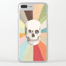 Skull is Cool Clear iPhone Case
