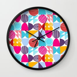Small Geometry Wall Clock